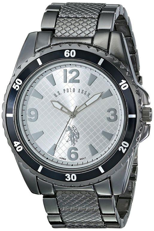 ユーエス ポロ アッスン U.S. Polo Assn. 男性用 腕時計 メンズ ウォッチ シルバー USC80257 送料無料 【並行輸入品】