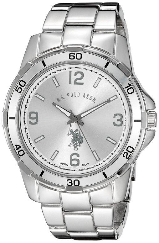 ユーエス ポロ アッスン U.S. Polo Assn. 男性用 腕時計 メンズ ウォッチ シルバー USC80296 送料無料 【並行輸入品】