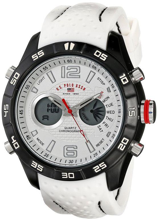 ユーエス ポロ アッスン U.S. Polo Assn. 男性用 腕時計 メンズ ウォッチ ホワイト US9489 送料無料 【並行輸入品】
