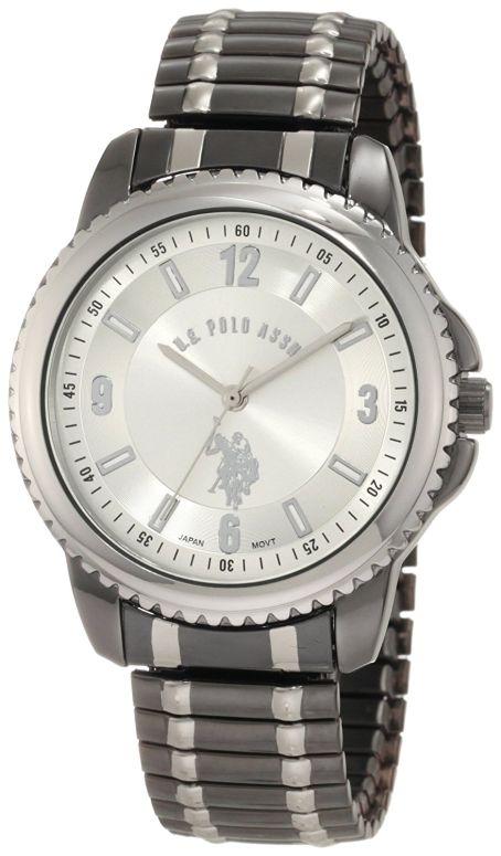ユーエス ポロ アッスン U.S. Polo Assn. 男性用 腕時計 メンズ ウォッチ シルバー USC80189 送料無料 【並行輸入品】