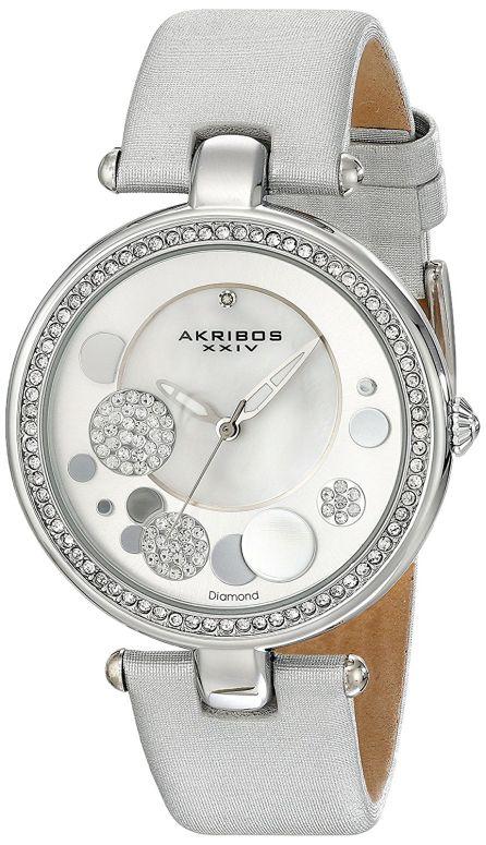 28dc863924b9 XXIV 女性用 メーカー名別 腕時計 レディース ウォッチ シルバー AKR434SL 送料無料 【並行輸入品】 アクリボス Akribos 頭文字  A - D 早期完売