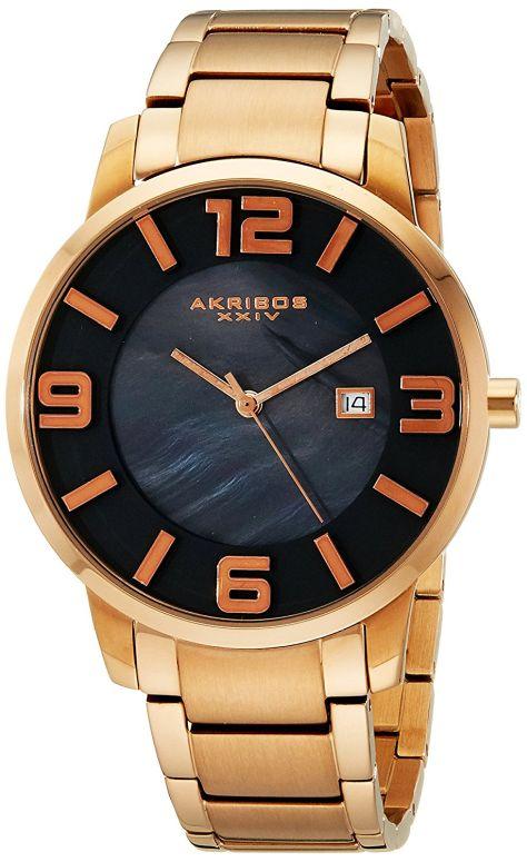 アクリボス Akribos XXIV 男性用 腕時計 メンズ ウォッチ パール AK566RG 送料無料 【並行輸入品】