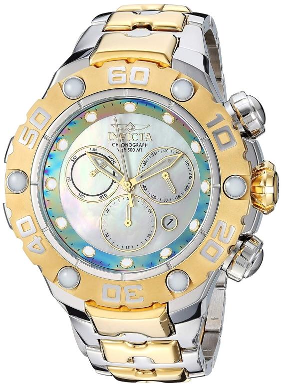 インビクタ Invicta インヴィクタ 男性用 腕時計 メンズ ウォッチ ホワイト 25718 送料無料 【並行輸入品】