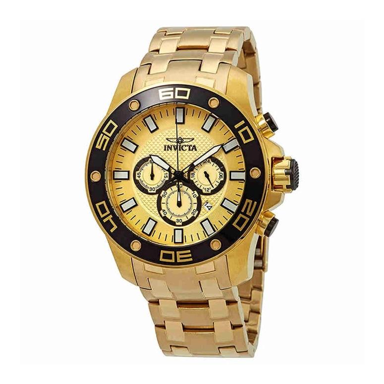インビクタ Invicta インヴィクタ 男性用 腕時計 メンズ ウォッチ クロノグラフ ゴールド 26079 送料無料 【並行輸入品】