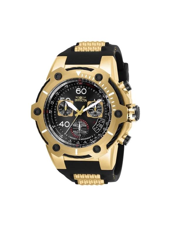 インビクタ Invicta インヴィクタ 男性用 腕時計 メンズ ウォッチ クロノグラフ ブラック 25874 送料無料 【並行輸入品】