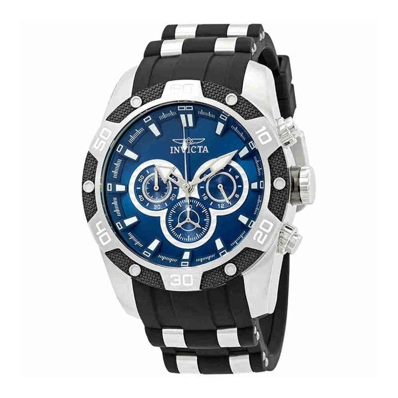 インビクタ Invicta インヴィクタ 男性用 腕時計 メンズ ウォッチ クロノグラフ ブルー 25833 送料無料 【並行輸入品】