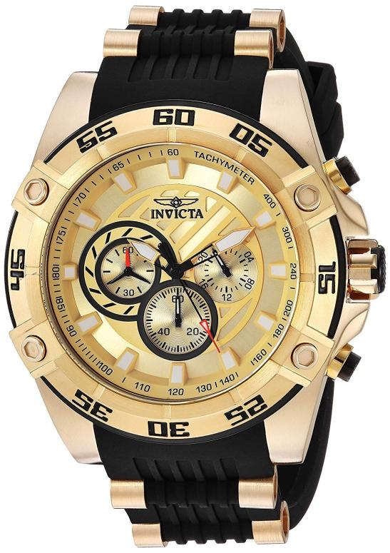 インビクタ Invicta インヴィクタ 男性用 腕時計 メンズ ウォッチ ゴールド 25507 送料無料 【並行輸入品】