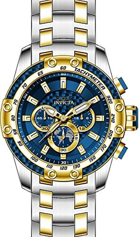 インビクタ Invicta インヴィクタ 男性用 腕時計 メンズ ウォッチ クロノグラフ ブルー 25947 送料無料 【並行輸入品】