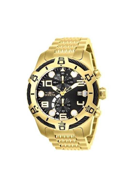インビクタ Invicta インヴィクタ 男性用 腕時計 メンズ ウォッチ ボルト bolt クロノグラフ ブラック 25550 送料無料 【並行輸入品】