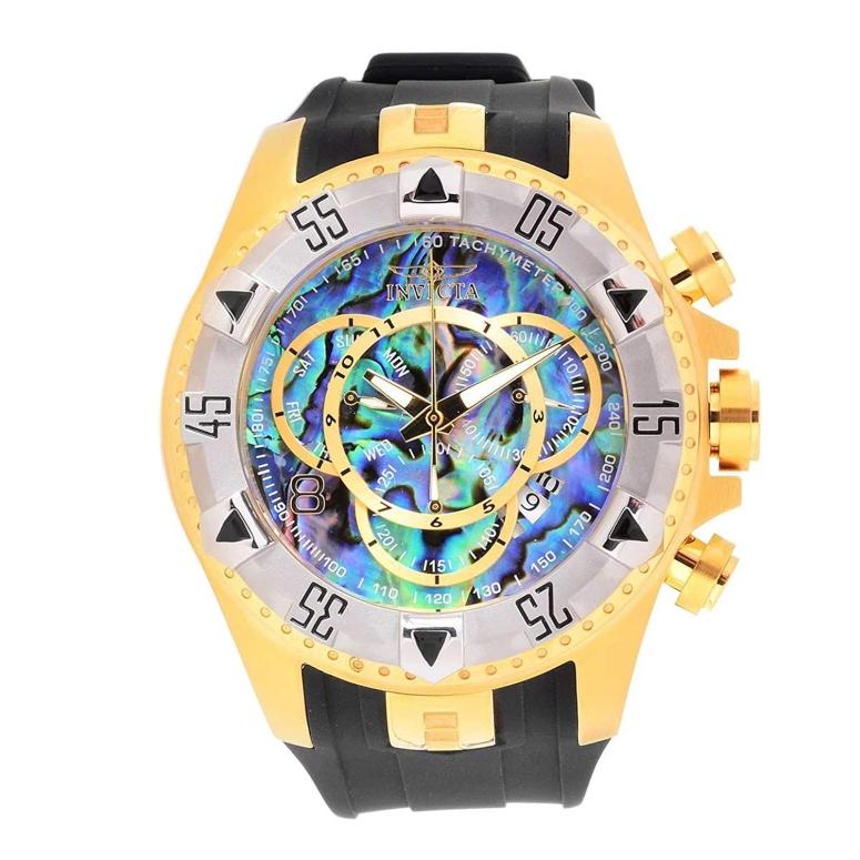 インビクタ Invicta インヴィクタ 男性用 腕時計 メンズ ウォッチ クロノグラフ ブルー パール 25017 送料無料 【並行輸入品】