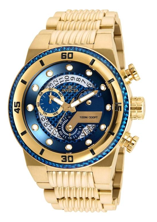 インビクタ Invicta インヴィクタ 男性用 腕時計 メンズ ウォッチ クロノグラフ ブルー ブラック 25281 送料無料 【並行輸入品】