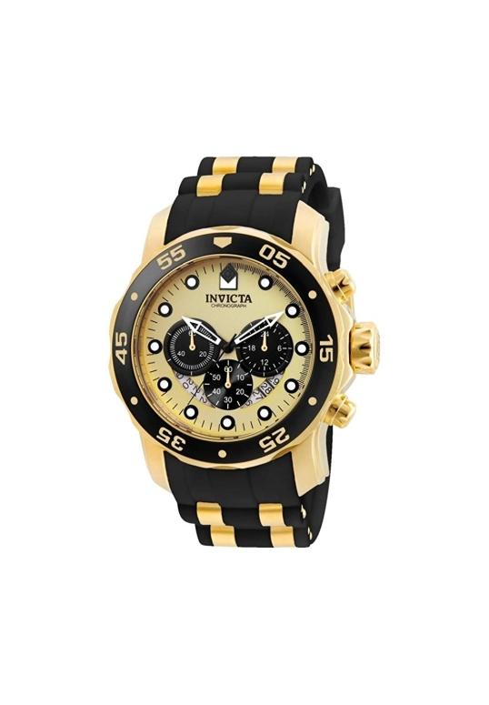 インビクタ Invicta インヴィクタ 男性用 腕時計 メンズ ウォッチ クロノグラフ ゴールド 24852 送料無料 【並行輸入品】