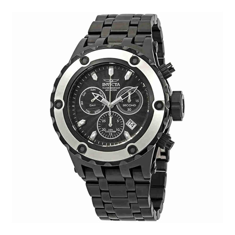 インビクタ Invicta インヴィクタ 男性用 腕時計 メンズ ウォッチ クロノグラフ ブラック 23925 送料無料 【並行輸入品】