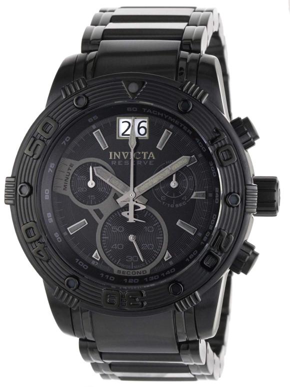 インビクタ Invicta インヴィクタ 男性用 腕時計 メンズ ウォッチ リザーブ reserve クロノグラフ ブラック 0762 送料無料 【並行輸入品】