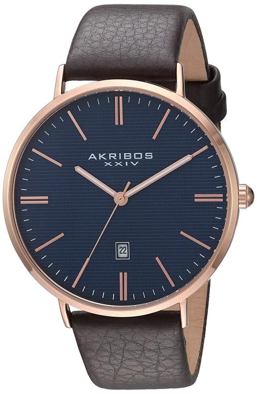 アクリボス Akribos XXIV 男性用 腕時計 メンズ ウォッチ ブルー AK935RGBU 送料無料 【並行輸入品】