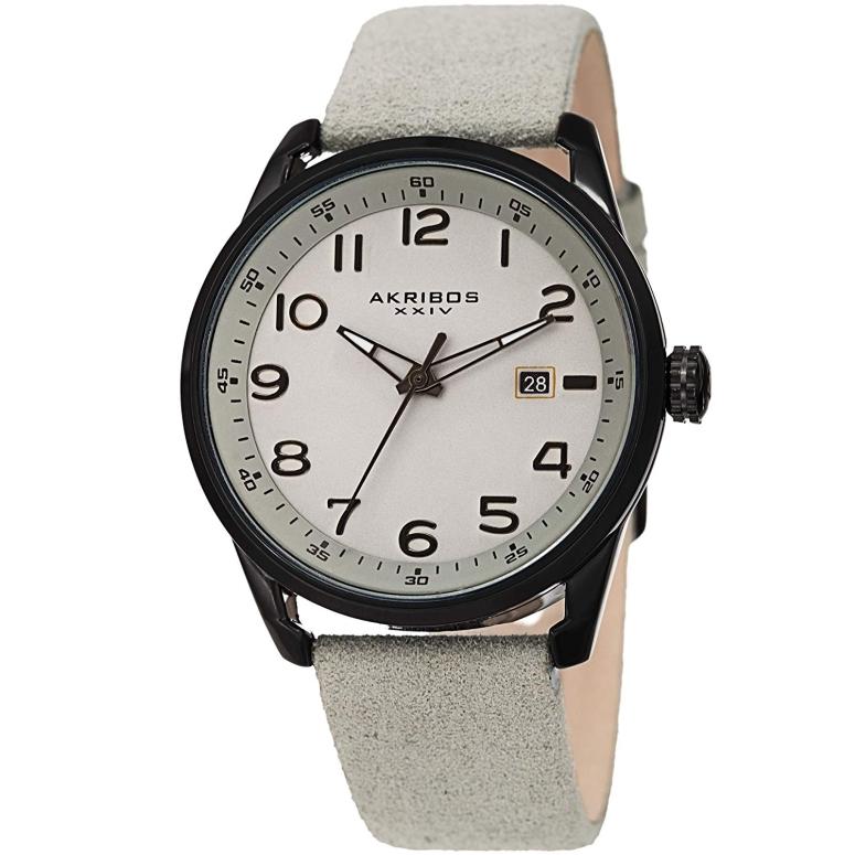 アクリボス Akribos XXIV 男性用 腕時計 メンズ ウォッチ ブラック AK1029GY 送料無料 【並行輸入品】