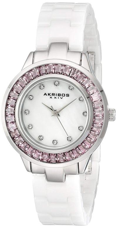 アクリボス Akribos XXIV 男性用 腕時計 メンズ ウォッチ パール AK781WTP 送料無料 【並行輸入品】