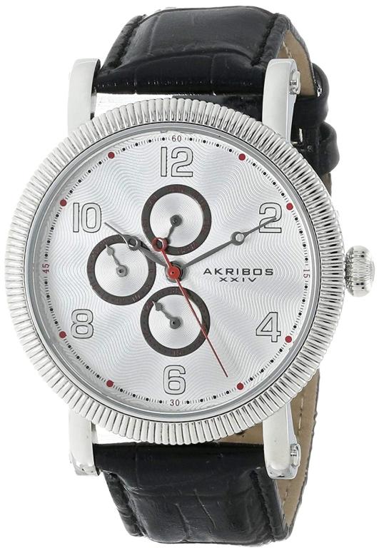 アクリボス Akribos XXIV 男性用 腕時計 メンズ ウォッチ ホワイト AK599WT 送料無料 【並行輸入品】