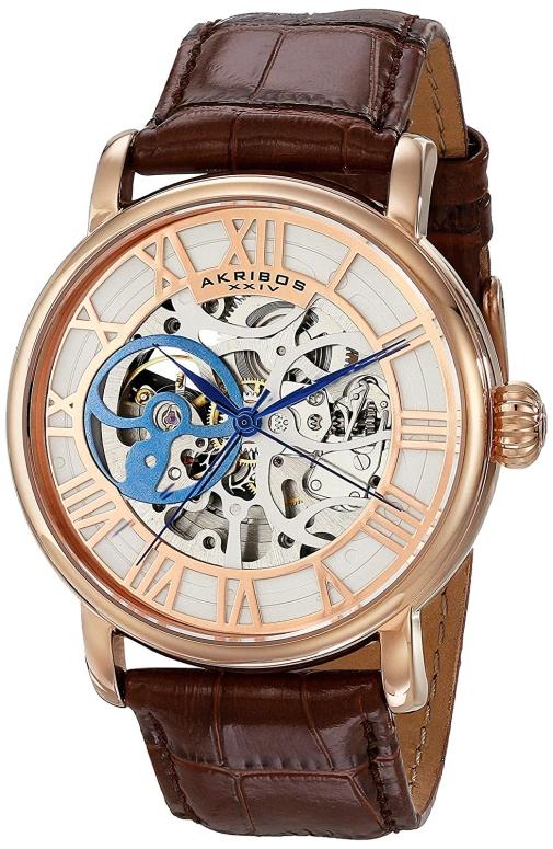 アクリボス Akribos XXIV 男性用 腕時計 メンズ ウォッチ ゴールド AK540RG 送料無料 【並行輸入品】
