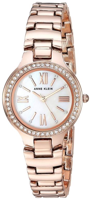 アンクライン Anne Klein 女性用 腕時計 レディース ウォッチ パール AK/3194MPRG 女性らしいデザイン かわいい 送料無料 【並行輸入品】