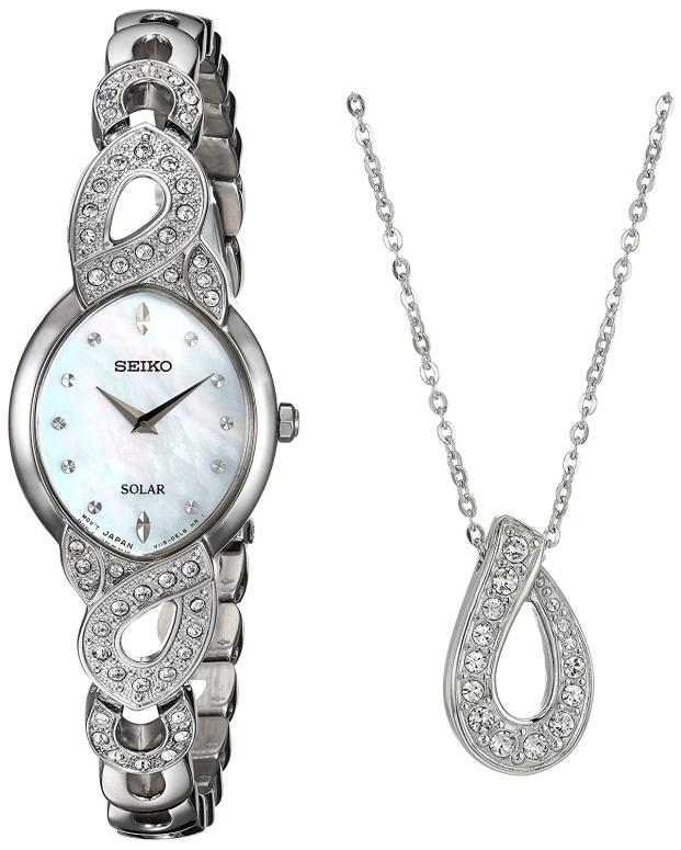 セイコー SEIKO 女性用 腕時計 レディース ウォッチ パール SUP367 送料無料 【並行輸入品】