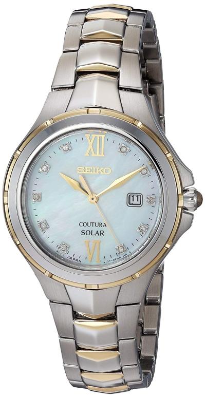 セイコー SEIKO 女性用 腕時計 レディース ウォッチ パール SUT308 送料無料 【並行輸入品】