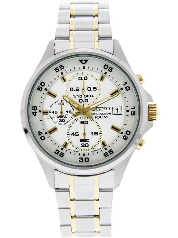 セイコー SEIKO 女性用 腕時計 レディース ウォッチ クロノグラフ ブラック SKS629P1 送料無料 【並行輸入品】