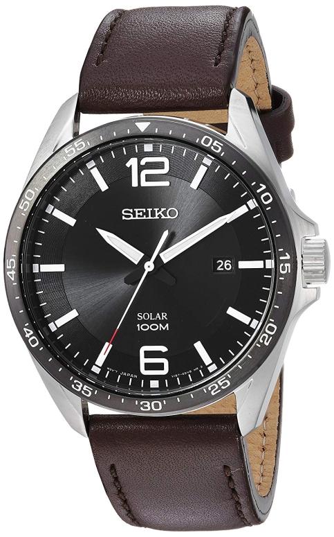 セイコー SEIKO 男性用 腕時計 メンズ ウォッチ ブラック SNE487 送料無料 【並行輸入品】