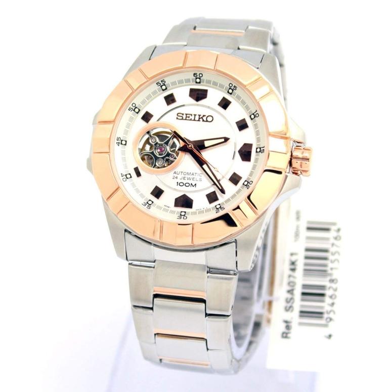セイコー SEIKO 男性用 腕時計 メンズ ウォッチ ブラック ssa074 送料無料 【並行輸入品】