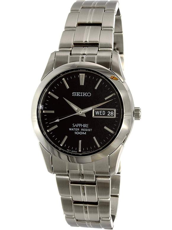 セイコー SEIKO 男性用 腕時計 メンズ ウォッチ ブラック Seiko SGG715P1 送料無料 【並行輸入品】