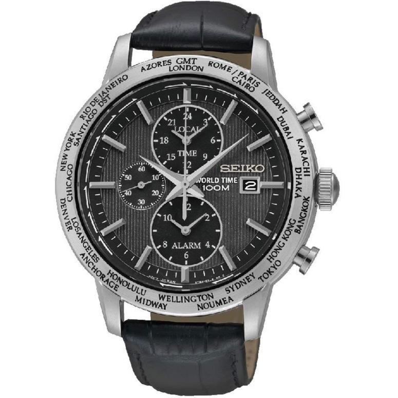 セイコー SEIKO 男性用 腕時計 メンズ ウォッチ ブラック SPL049P2 送料無料 【並行輸入品】