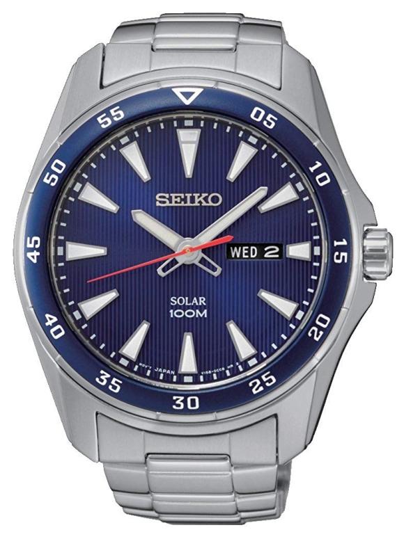 セイコー SEIKO 男性用 腕時計 メンズ ウォッチ ブルー SNE391P1 送料無料 【並行輸入品】