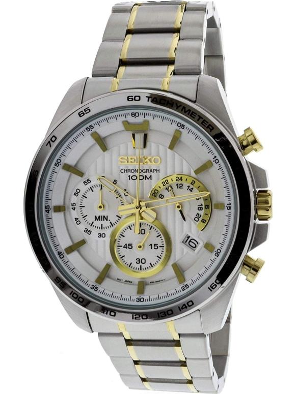 セイコー SEIKO 男性用 腕時計 メンズ ウォッチ ホワイト SSB309 送料無料 【並行輸入品】