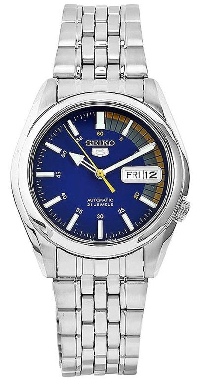 セイコー SEIKO 男性用 腕時計 メンズ ウォッチ ブルー SNK371K 送料無料 【並行輸入品】