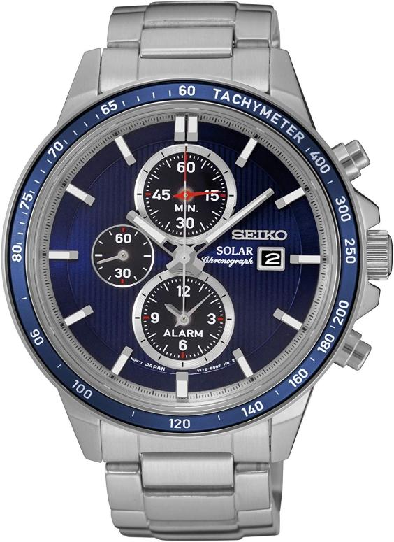 セイコー SEIKO 男性用 腕時計 メンズ ウォッチ クロノグラフ ブルー SSC431P1 送料無料 【並行輸入品】