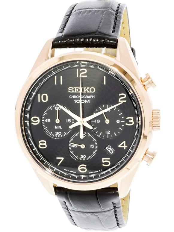 セイコー SEIKO 男性用 腕時計 メンズ ウォッチ クロノグラフ ブラック SSB296 送料無料 【並行輸入品】