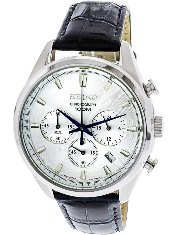 セイコー SEIKO 男性用 腕時計 メンズ ウォッチ クロノグラフ シルバー SSB291 送料無料 【並行輸入品】