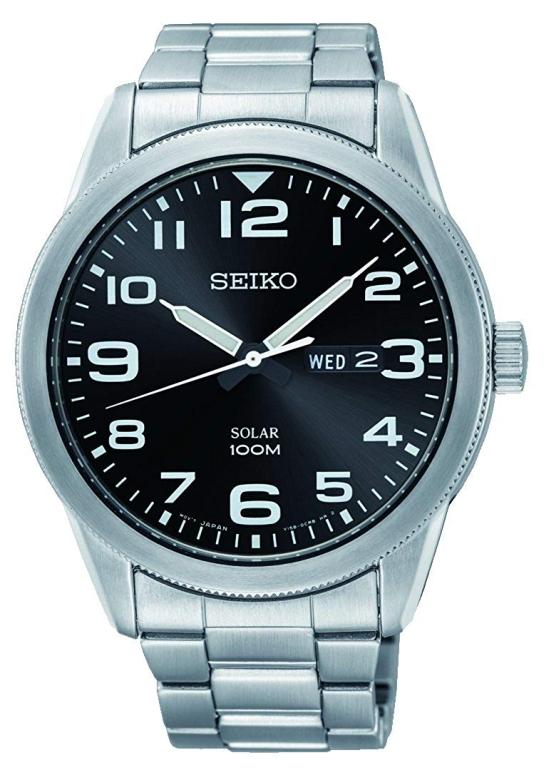 セイコー SEIKO 男性用 腕時計 メンズ ウォッチ ブラック SNE471P1 送料無料 【並行輸入品】