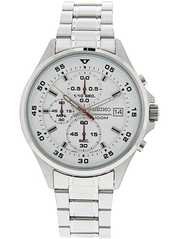 セイコー SEIKO 男性用 腕時計 メンズ ウォッチ クロノグラフ ホワイト SKS623 送料無料 【並行輸入品】