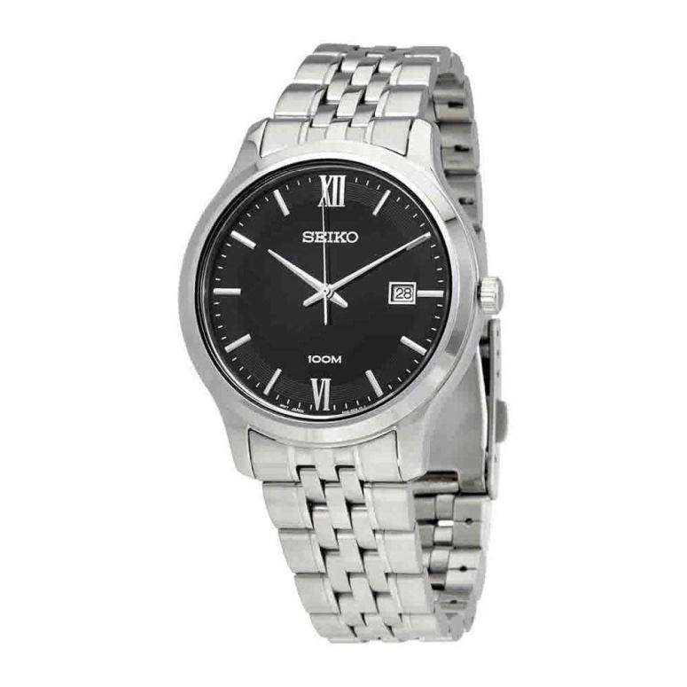 セイコー SEIKO 男性用 腕時計 メンズ ウォッチ ブラック SUR221 送料無料 【並行輸入品】