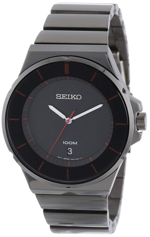 セイコー SEIKO 男性用 腕時計 メンズ ウォッチ クロノグラフ ブラック SGEG25 送料無料 【並行輸入品】