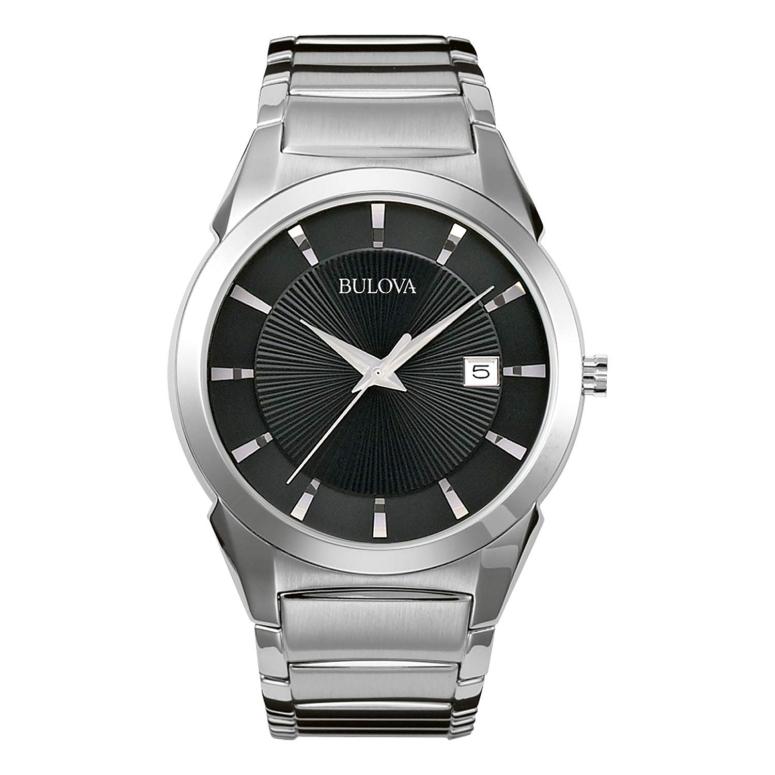 ブローバ Bulova 男性用 腕時計 メンズ ウォッチ ブラック 96B149 送料無料 【並行輸入品】