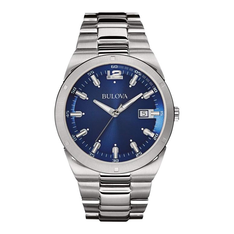 ブローバ Bulova 男性用 腕時計 メンズ ウォッチ ブルー 96B220 送料無料 【並行輸入品】