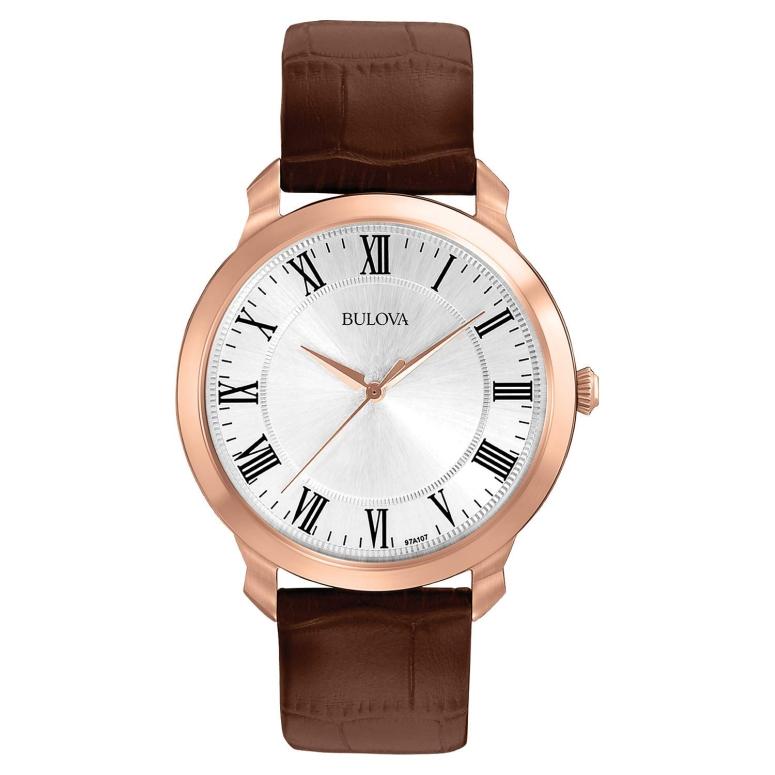 ブローバ Bulova 男性用 腕時計 メンズ ウォッチ シルバー 97A107 送料無料 【並行輸入品】