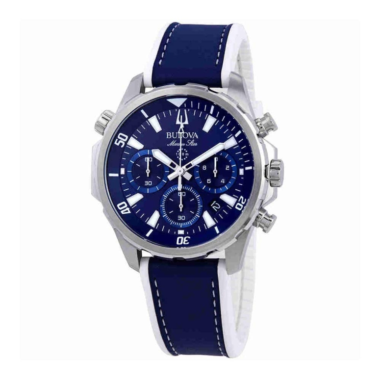 ブローバ Bulova 男性用 腕時計 メンズ ウォッチ ブルー 96B287 送料無料 【並行輸入品】