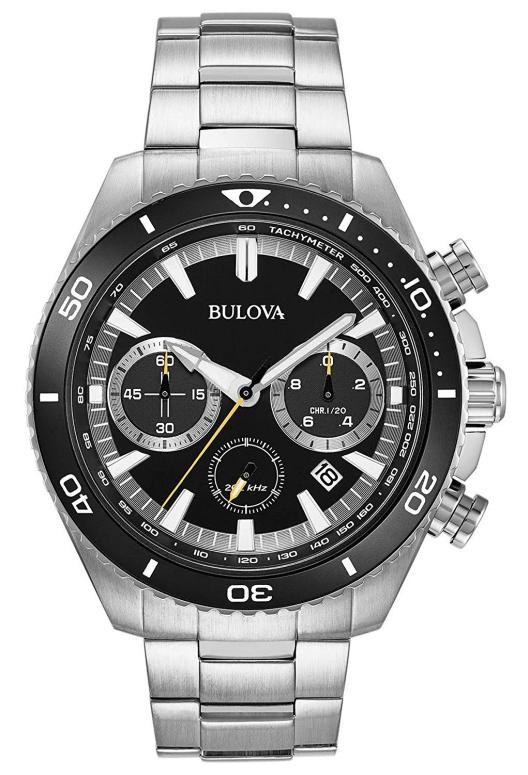 ブローバ Bulova 男性用 腕時計 メンズ ウォッチ クロノグラフ ブラック 98B228 送料無料 【並行輸入品】