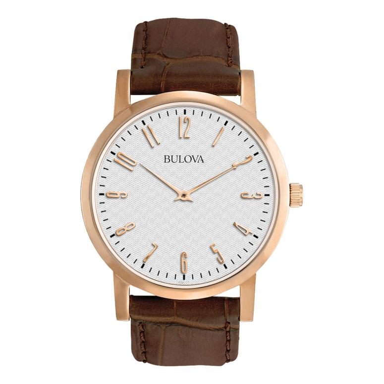 ブローバ Bulova 男性用 腕時計 メンズ ウォッチ ホワイト 97A106 送料無料 【並行輸入品】