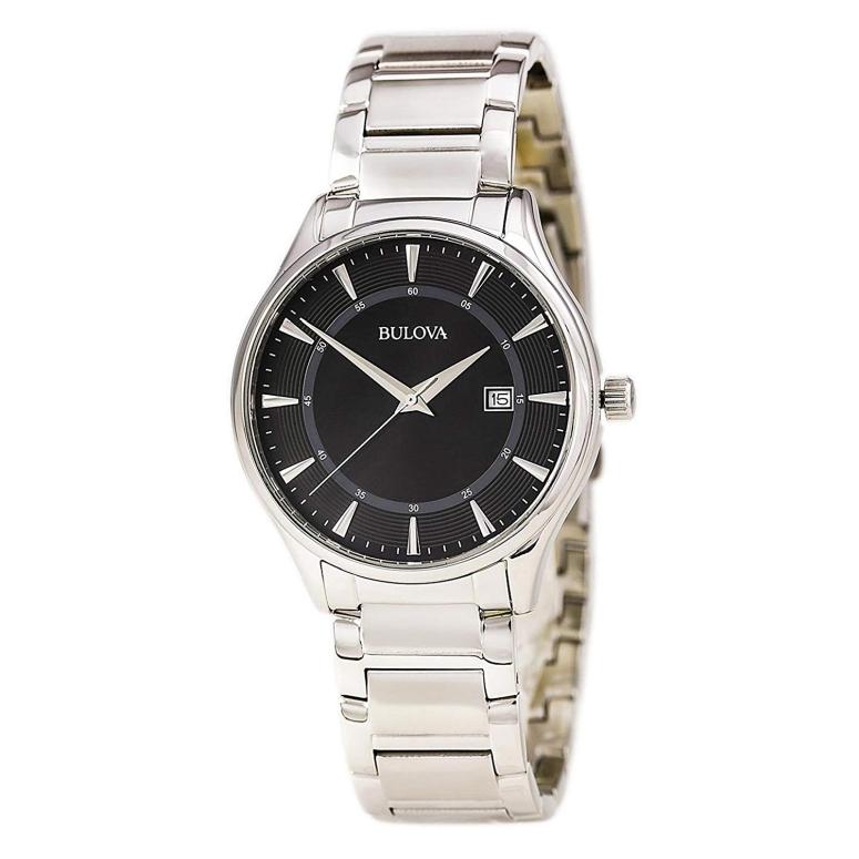 ブローバ Bulova 男性用 腕時計 メンズ ウォッチ ブラック 96B184 送料無料 【並行輸入品】