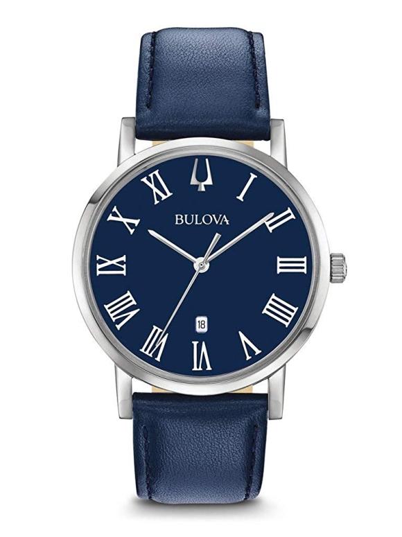 ブローバ Bulova 男性用 腕時計 メンズ ウォッチ ブルー 96B295 送料無料 【並行輸入品】