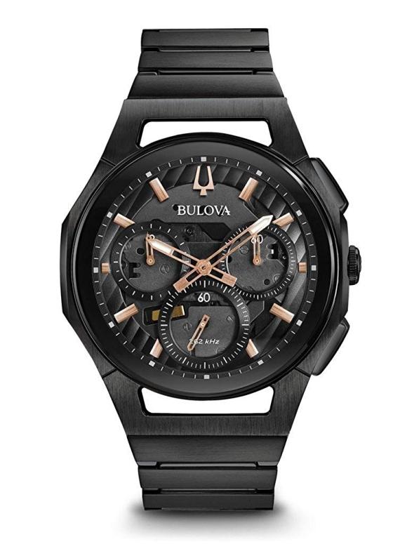 ブローバ Bulova 男性用 腕時計 メンズ ウォッチ ブラック 98A207 送料無料 【並行輸入品】
